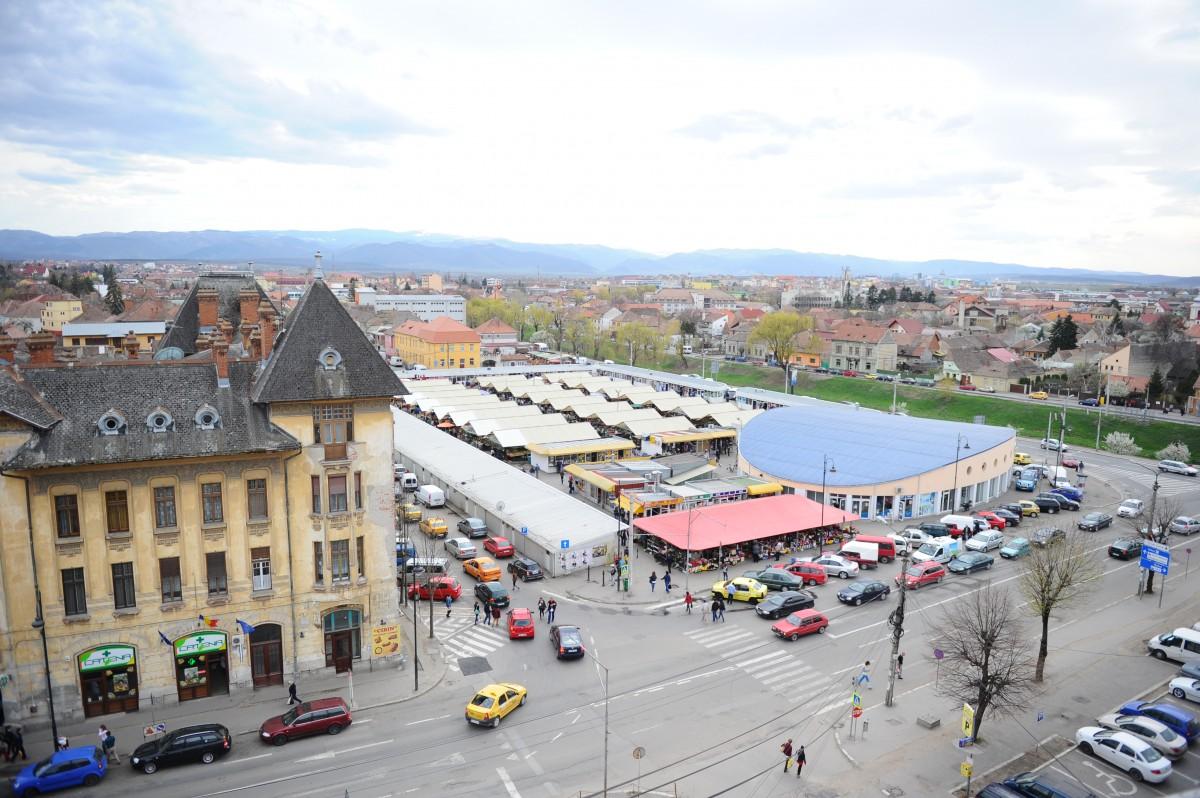 Proiectul de la Piața Cibin se schimbă: parcările nu vor mai fi subterane, ci deasupra pieței. A unei noi piețe