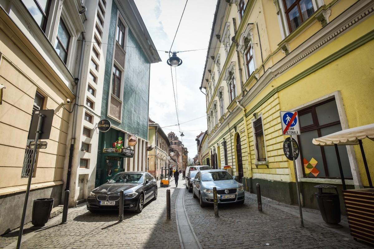 Primăria extinde zona pietonală pe încă o stradă din centrul istoric