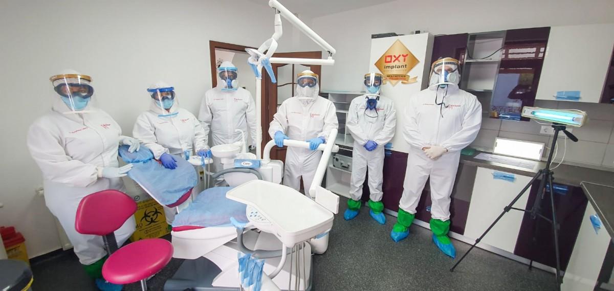 FOTO-VIDEO Cea mai solicitată clinică privată din Sibiu care oferă servicii stomatologice de urgență non-stop