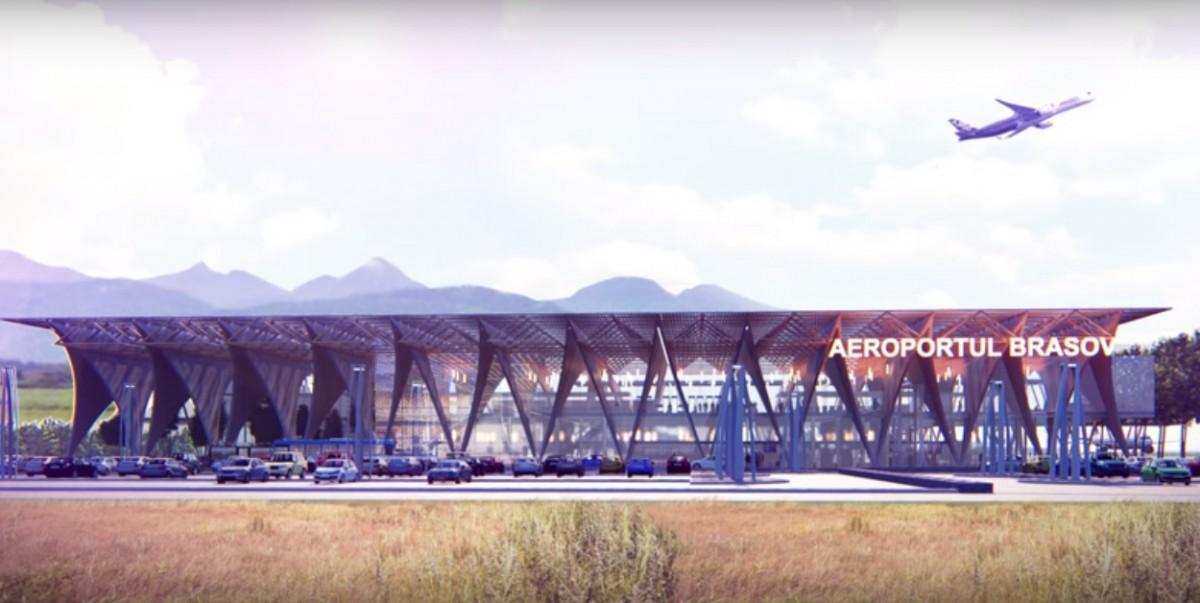 CJ Brașov face licitație pentru concesionarea viitorului aeroport. Sibiul a renunțat la idee cu unanimitate de voturi