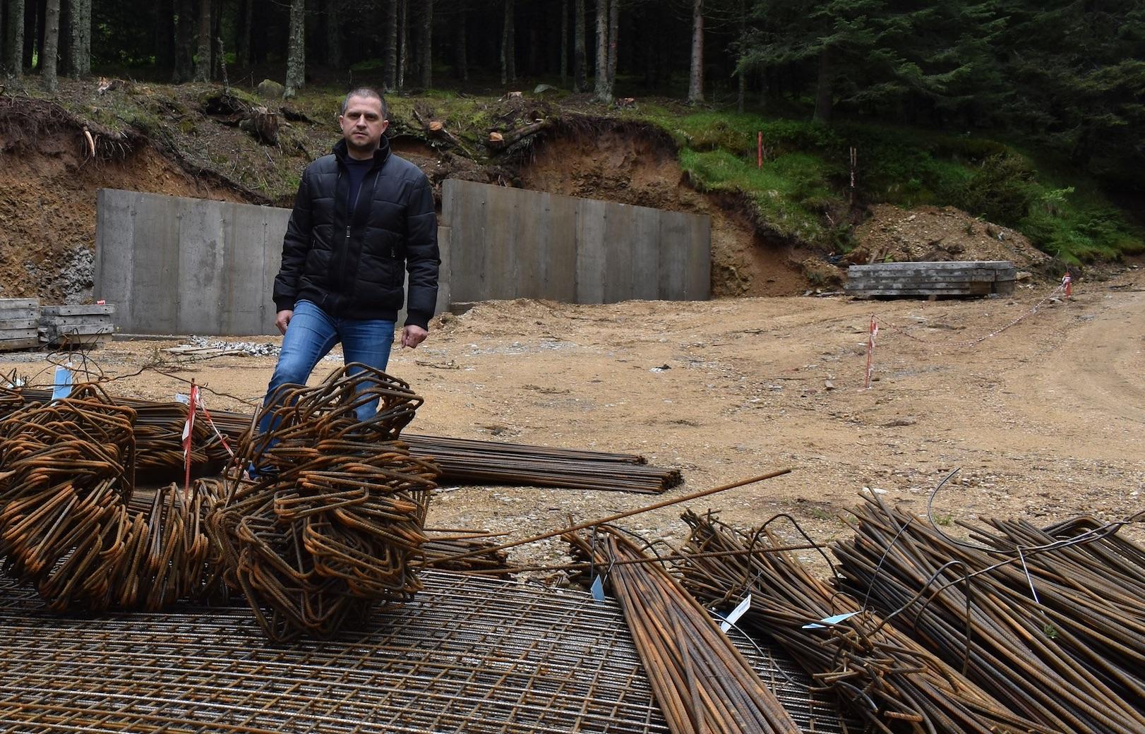 Bogdan Trif: Au început lucrările pentru construirea bazeiSalvamontdin stațiunea Păltiniș