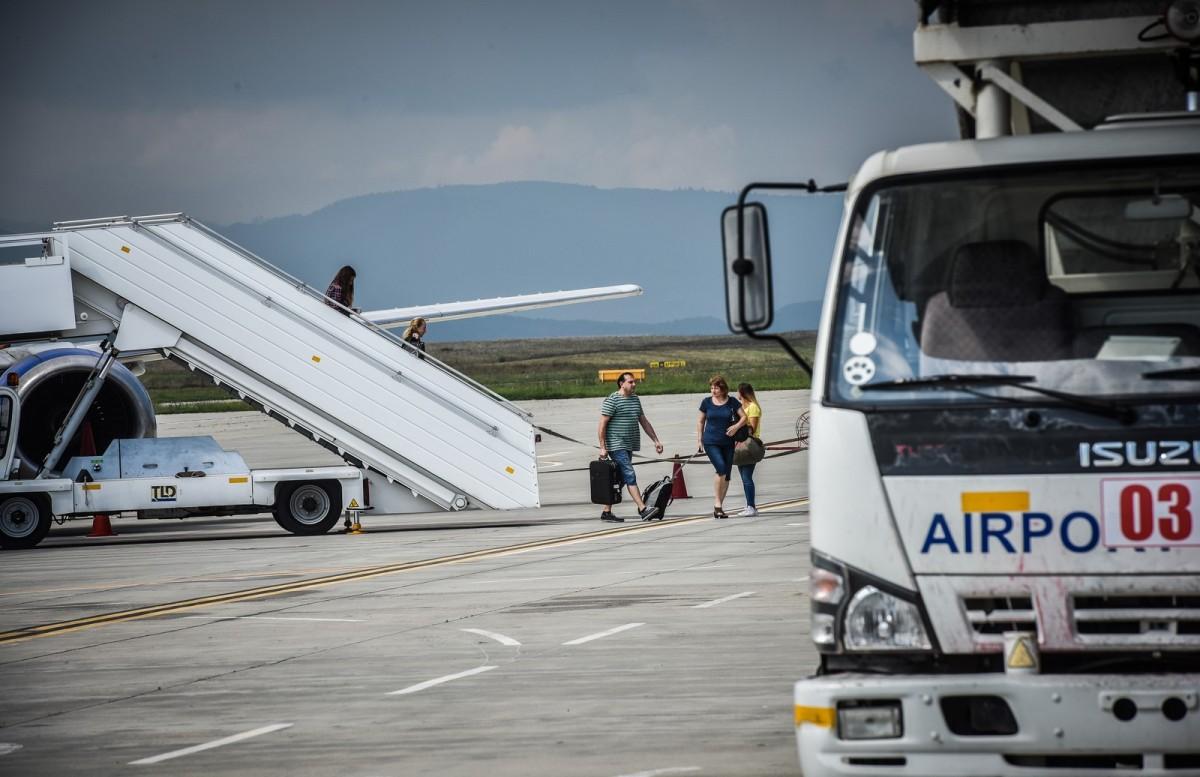 Măsuri în premieră pe Aeroportul Sibiu pentru fluidizarea traficului
