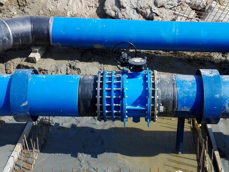 Rețea nouă de apă potabilă pe strada Podului din Sibiu