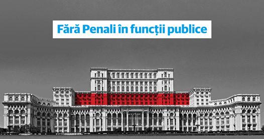 """După un an de blocaj, """"Fără penali în funcții publice"""" intră în dezbaterea Parlamentului"""