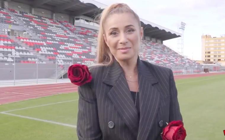 Noul investitor la FC Hermannstadt, Anamaria Reghecampf, și-a anunțat primele planuri: Ne luptăm la campionat