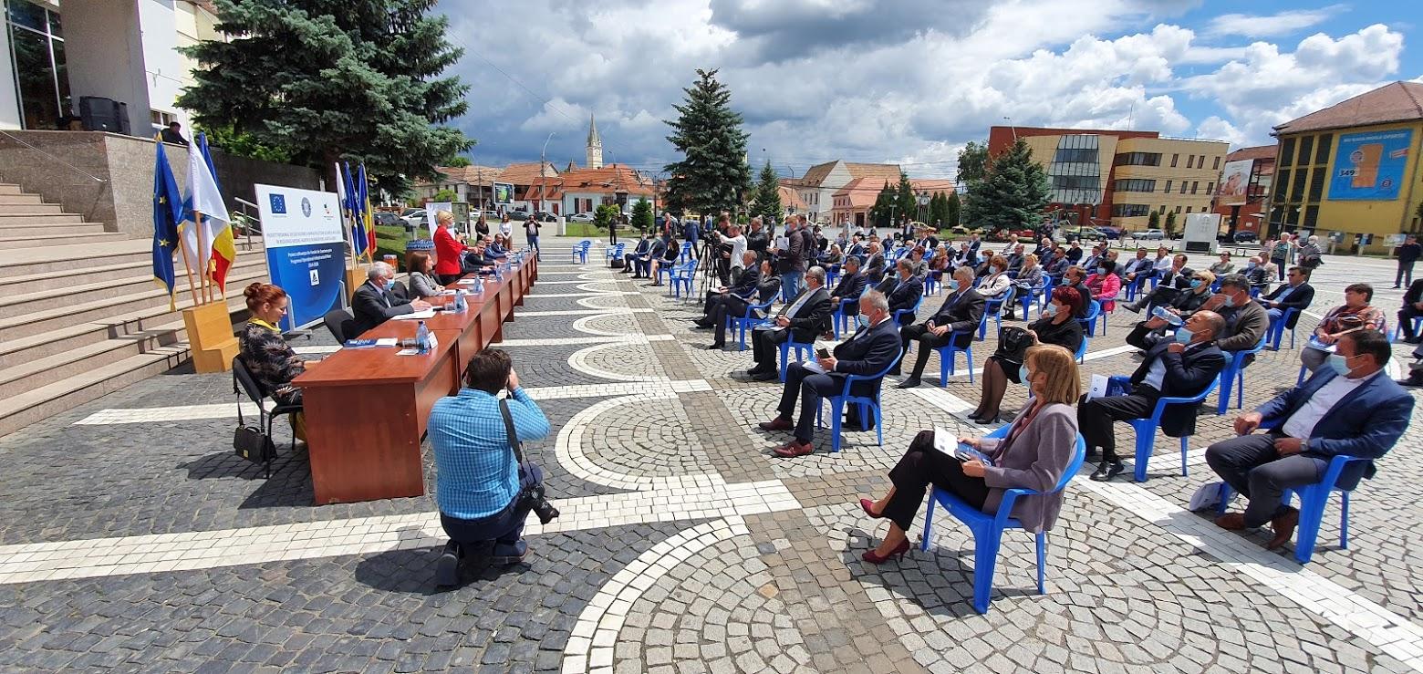 122.000.000 euro pentru nord-estul județului: fiecare localitate cu peste 50 de locuitori va avea apă potabilă