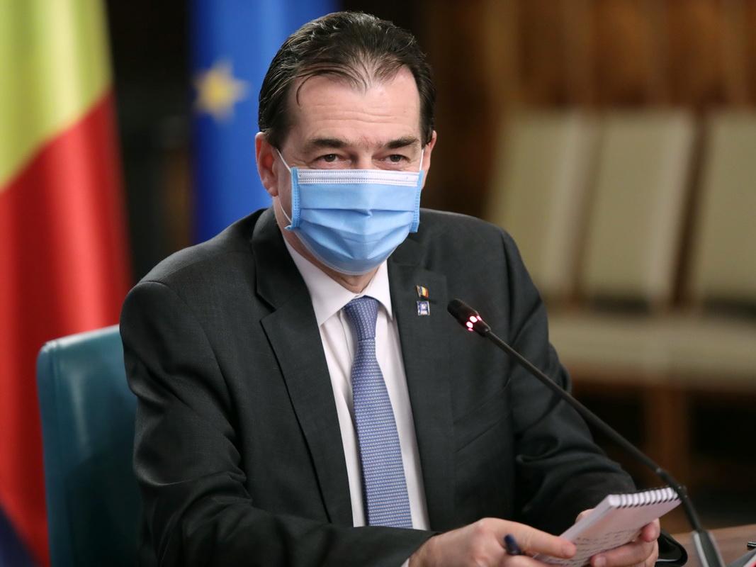 Orban: numărul cazurilor de îmbolnăviri cu noul coronavirus ne-a determinat amânarea altor măsuri de relaxare