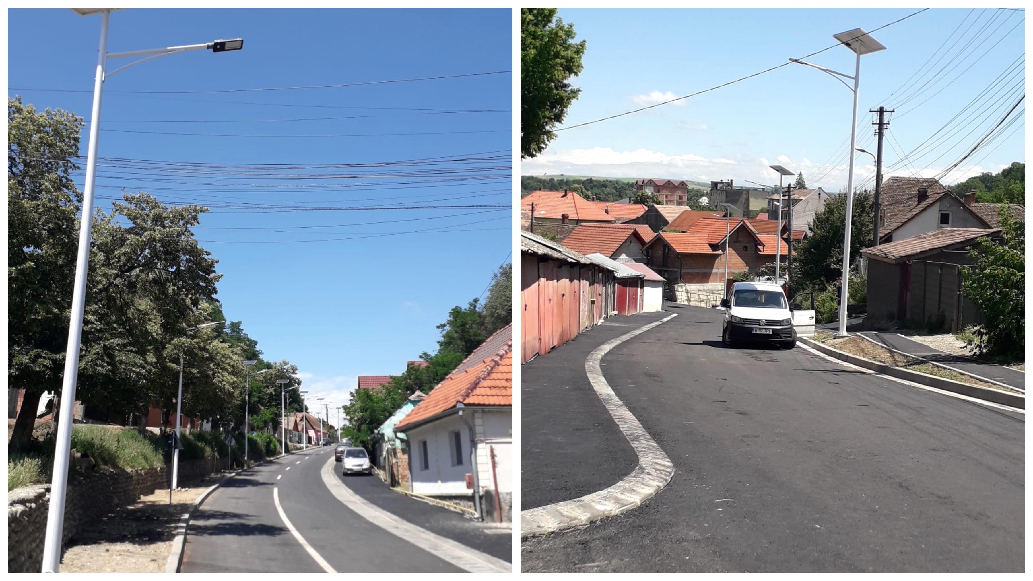 Infrastructura Ocnei Sibiului, modernizată din fonduri europene: de la străzi, la aparate de aerosoli și facilități sportive