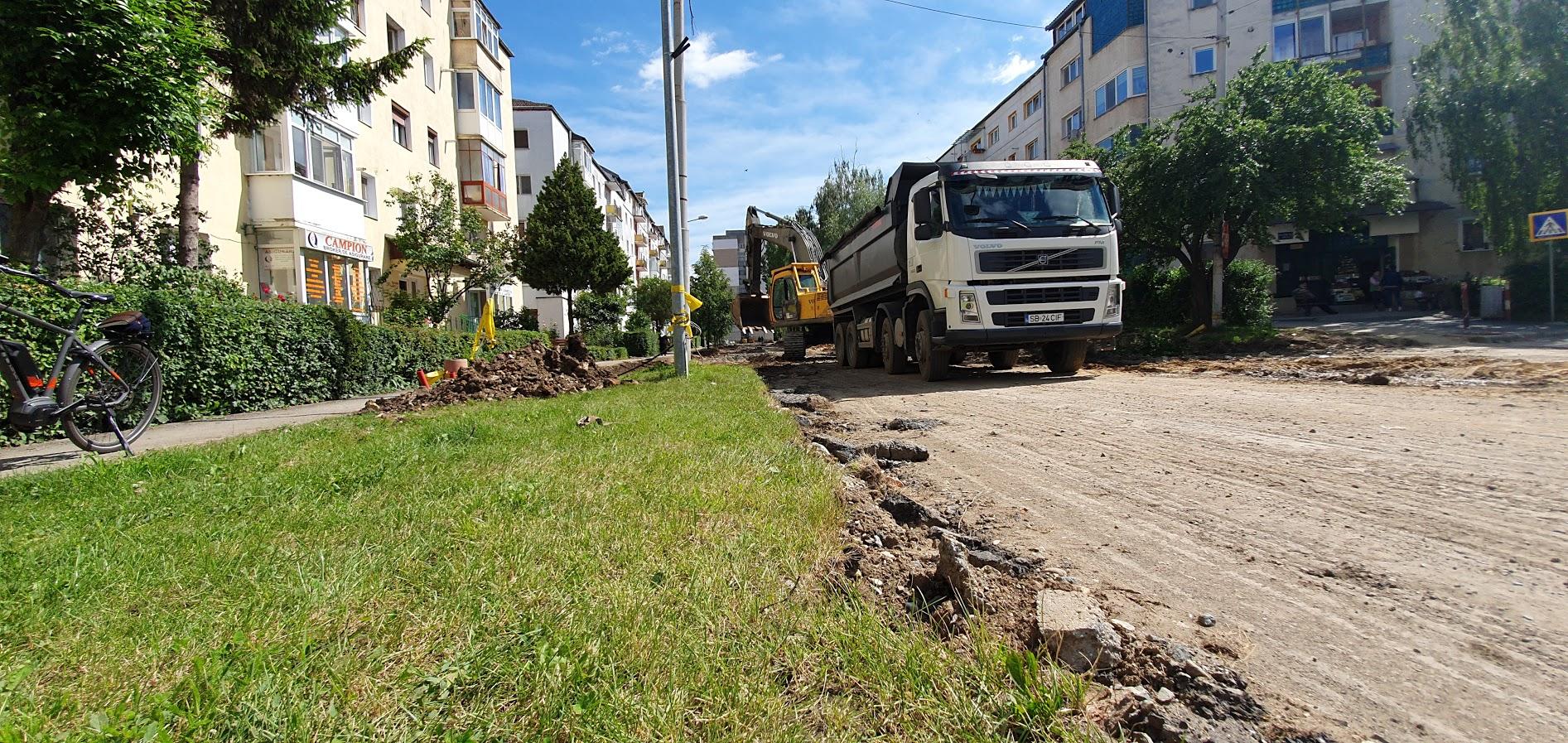 """Locuitorii din zonă """"au învins"""": Calea Cisnădiei nu se mai lărgește la patru benzi"""