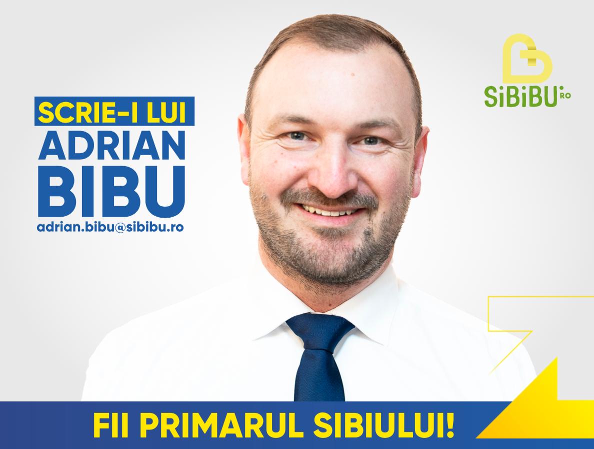 """FII PRIMARUL SIBIULUI! Sibienii îi scriu lui Adrian Bibu: """"Deloc surprinzător, ideile sunt foarte bune!"""""""