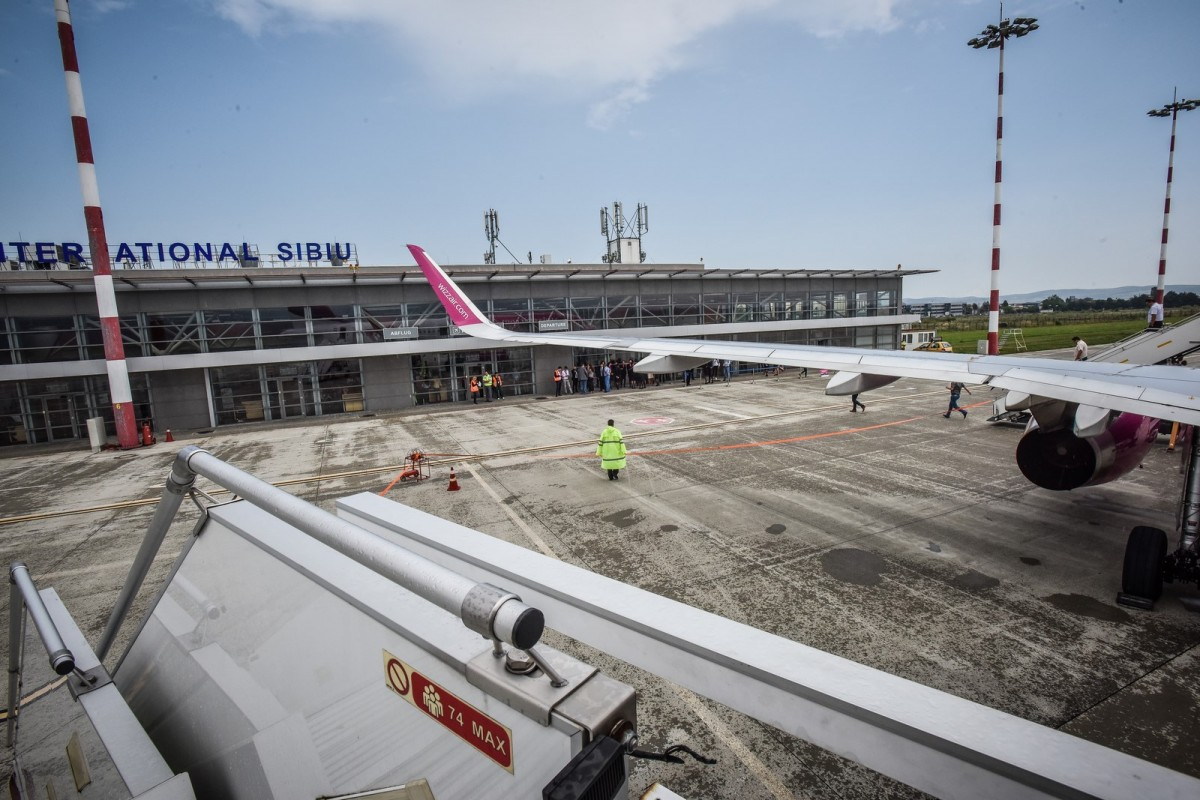 Controale pe Aeroportul Internațional Sibiu, în pandemie