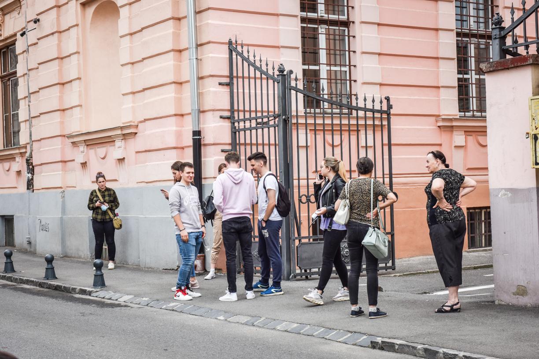 S-au afișat rezultatele la admiterea în liceu în Sibiu