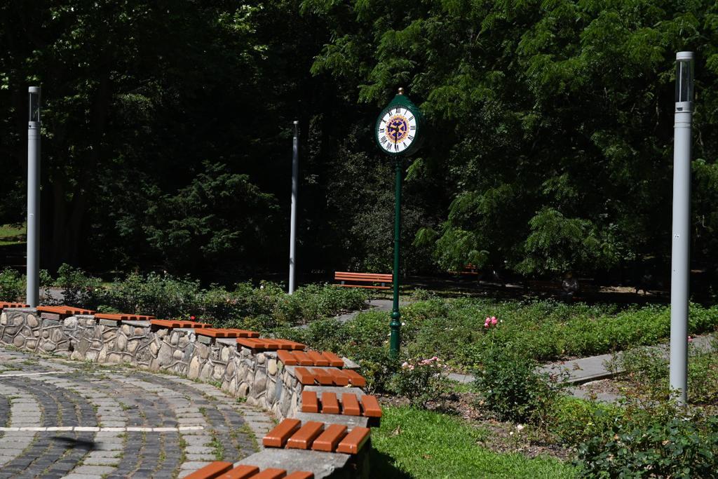 Clubul Rotary Sibiu a donat Sibiului un ceas stradal