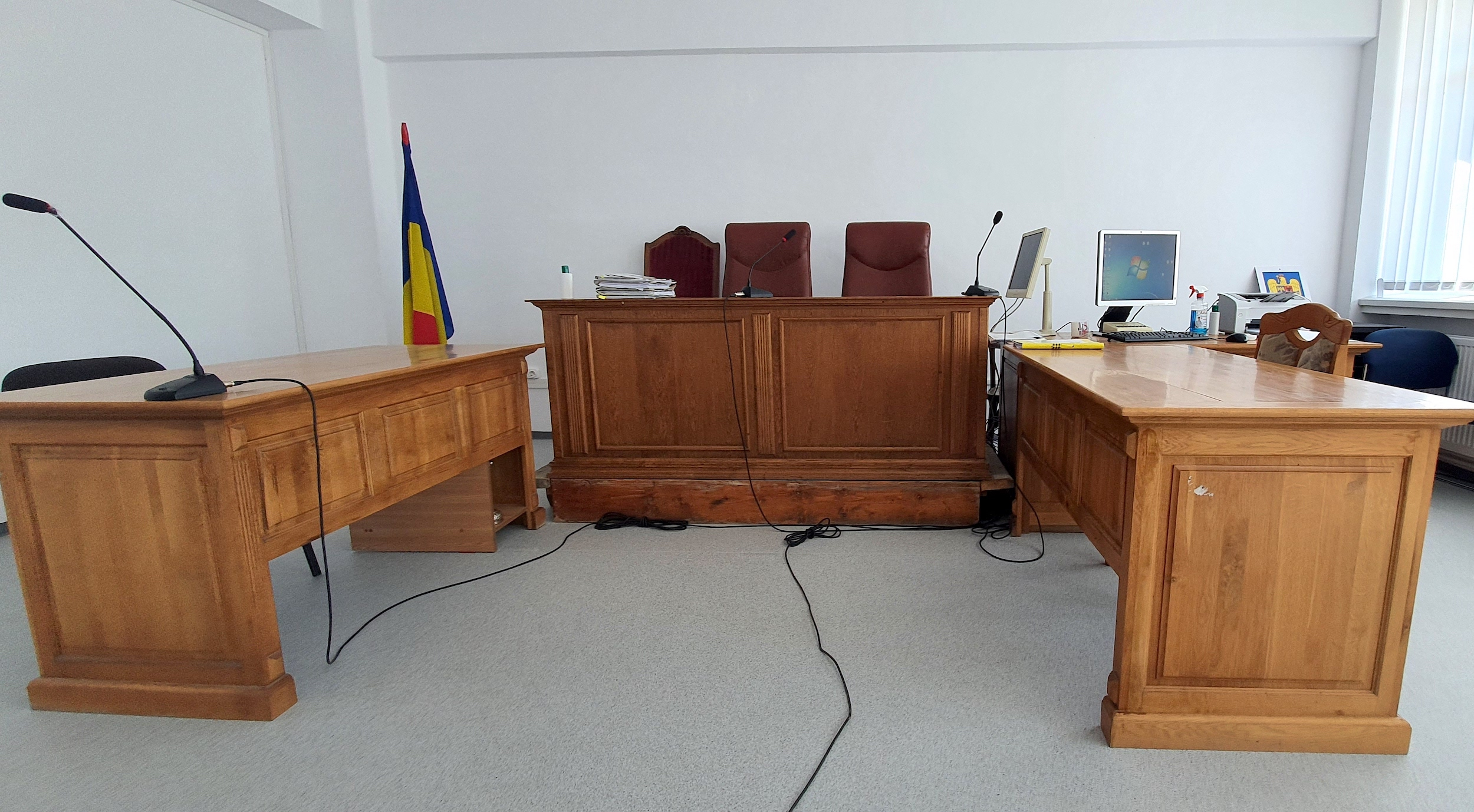 Foto. Cum arată noul sediu al Tribunalului, închiriat cu 382.882 de lei pe lună