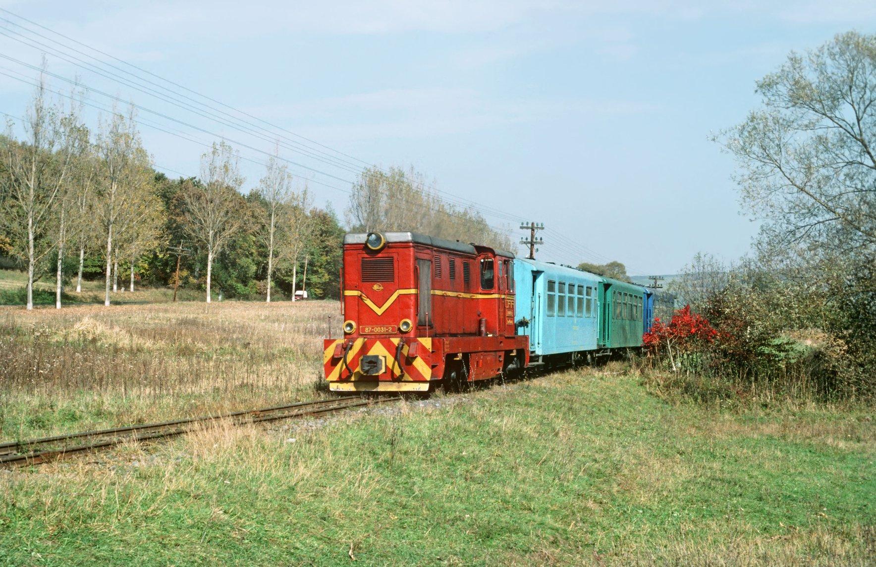 Peste 110.000 de euro fonduri nerambursabile pentru mocănița Sibiu-Agnita