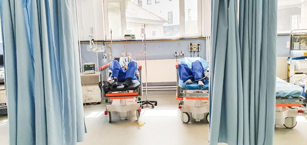 La Spitalul Județean din Sibiu nu mai sunt locuri pentru bolnavii de Covid-19