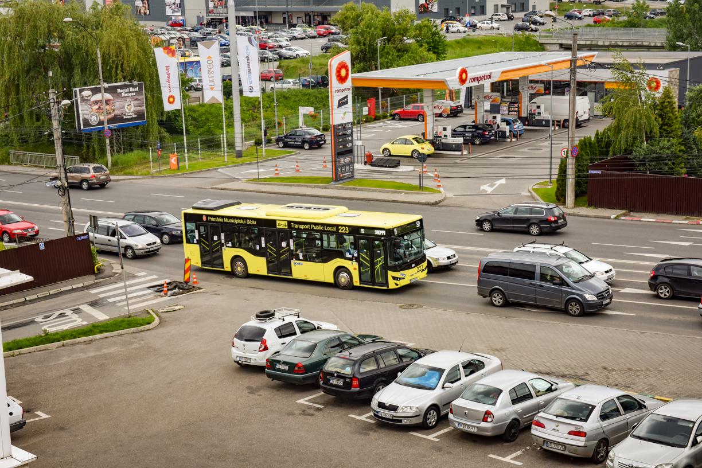 """Cel mai important plan de mobilitate al Sibiului, scos din nou în dezbatere. """"Zonală"""", de această dată"""