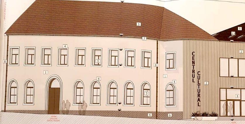 Ocna Sibiului: aproape zece milioane de lei nerambursabile pentru un nou Centru cultural și spații publice modernizate