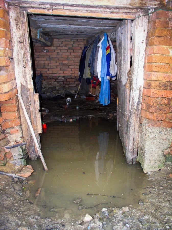Probleme în mai multe gospodării, în urma ploii puternice