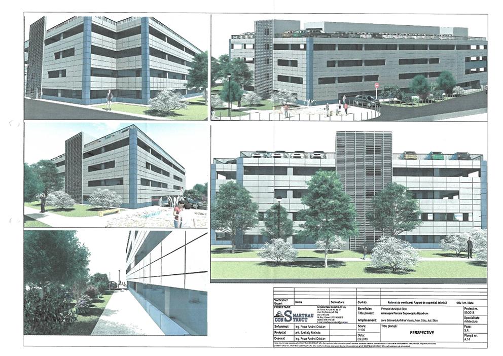 Începe construcția parcării supraterane multietajate în cartierul Hipodrom III