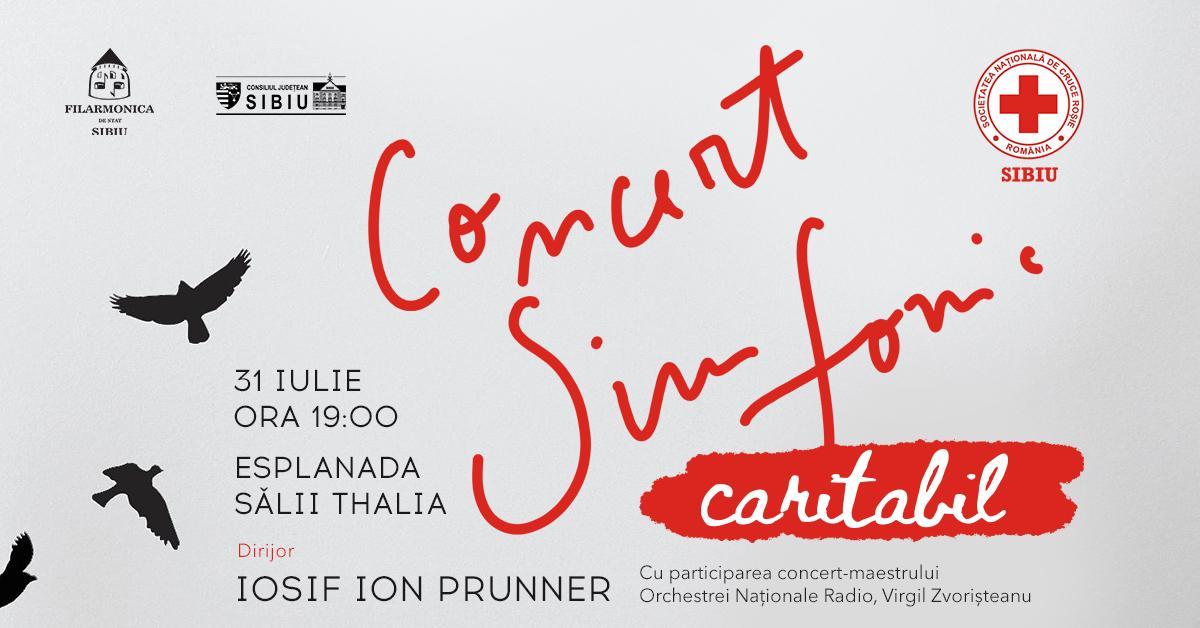 Filarmonica de Stat Sibiu concertează pentru Crucea Roșie