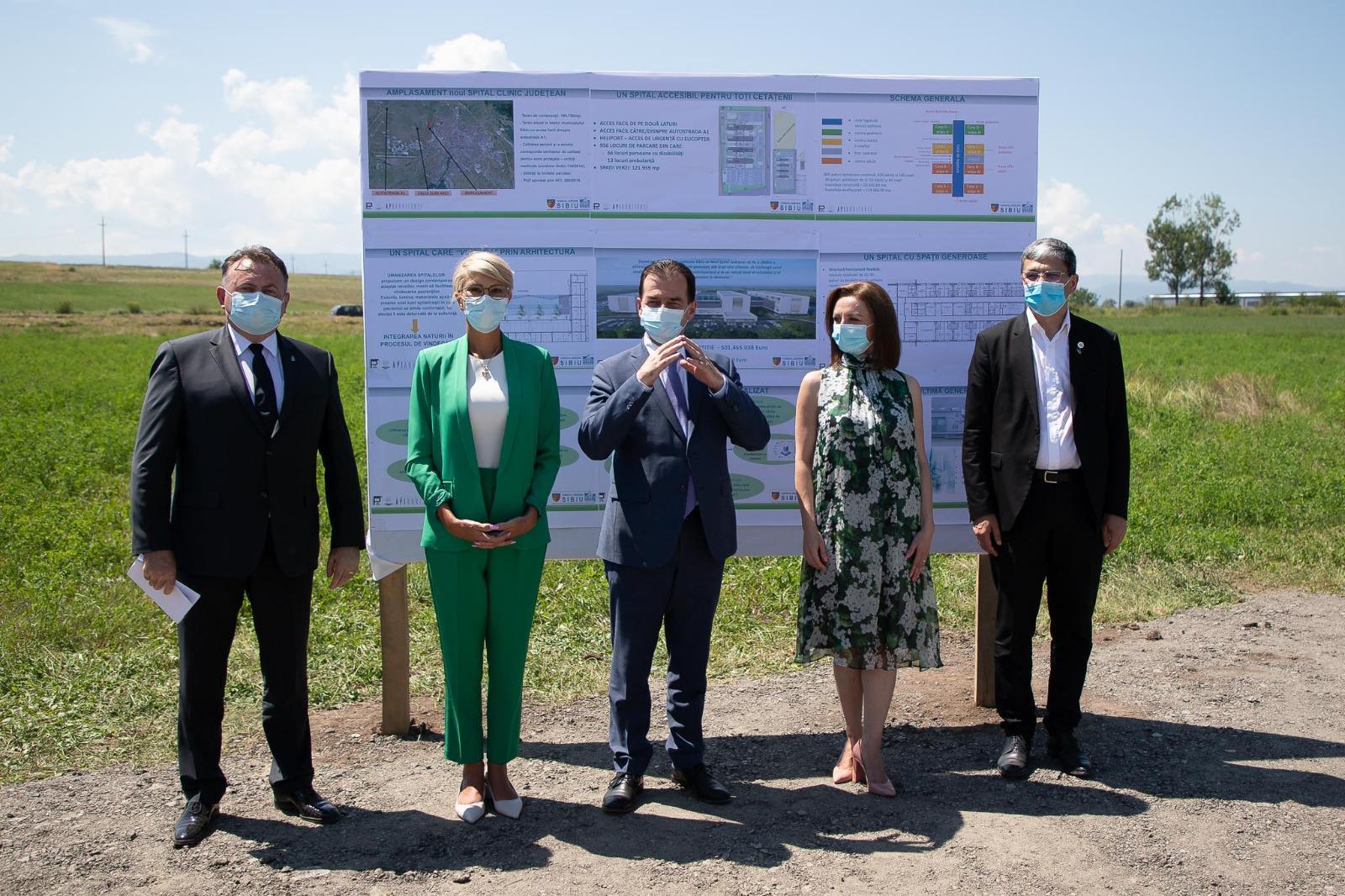 Guvernul PNL sprijină cel mai așteptat proiect al sibienilor: construcția noului Spital Județean Sibiu!