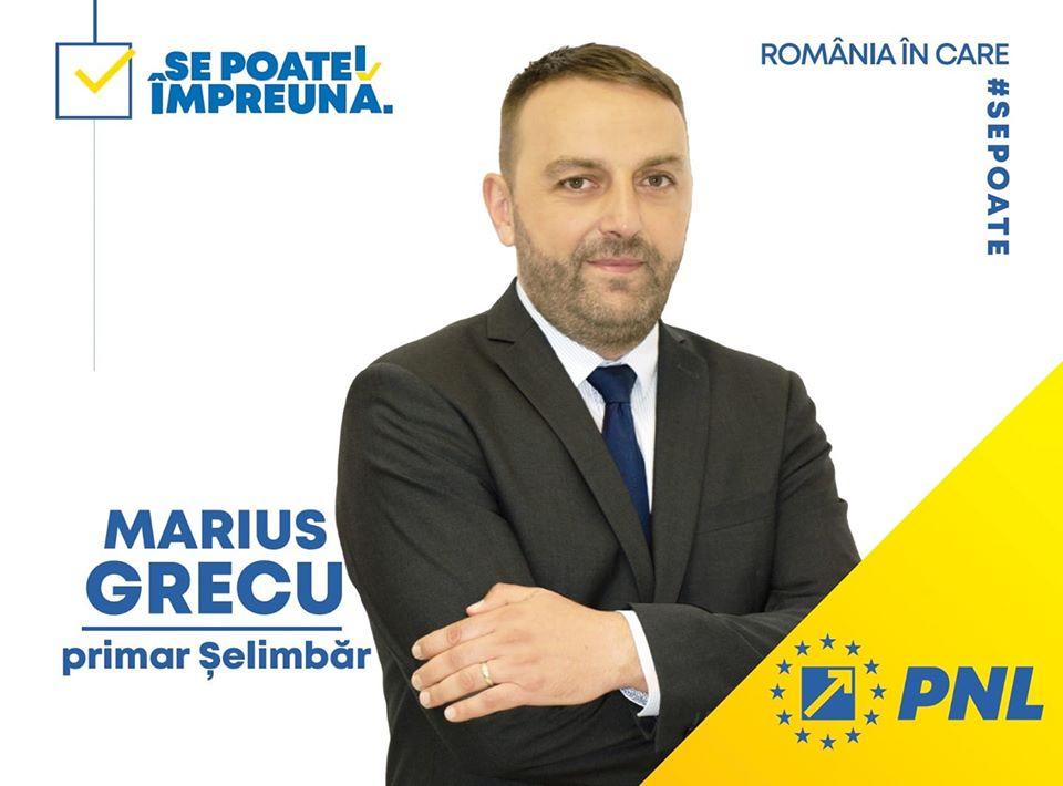 Marius Grecu, primarul comunei Șelimbăr: Candidez pentru un nou mandat