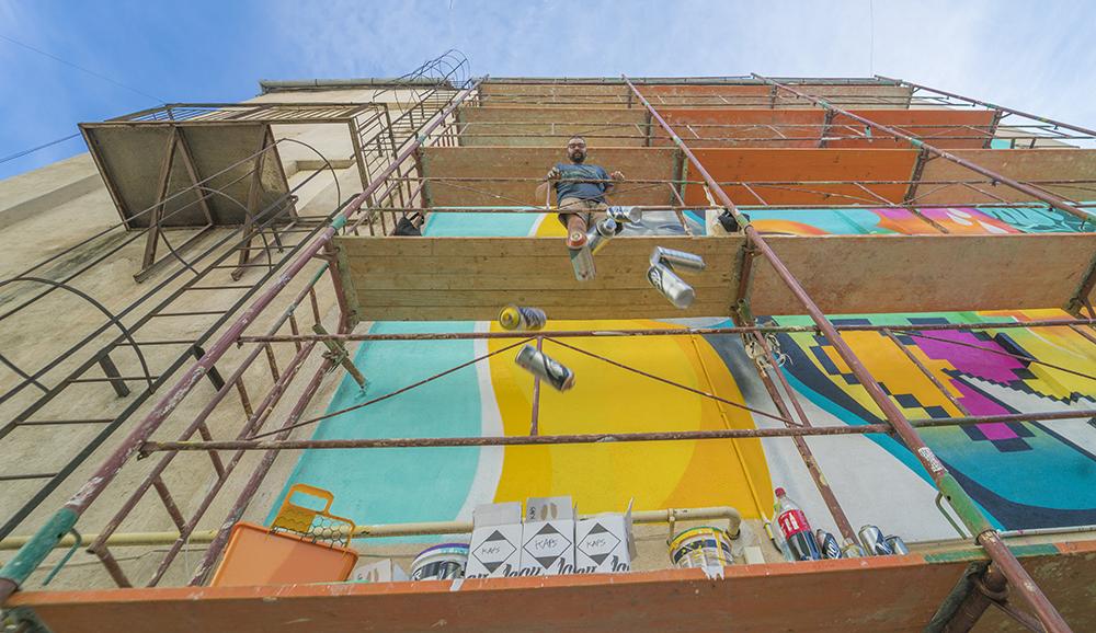 Întoarcere la origini, la Festivalul de Street Art din Sibiu, între 10-16 august. Cine sunt artiștii stradali confirmați