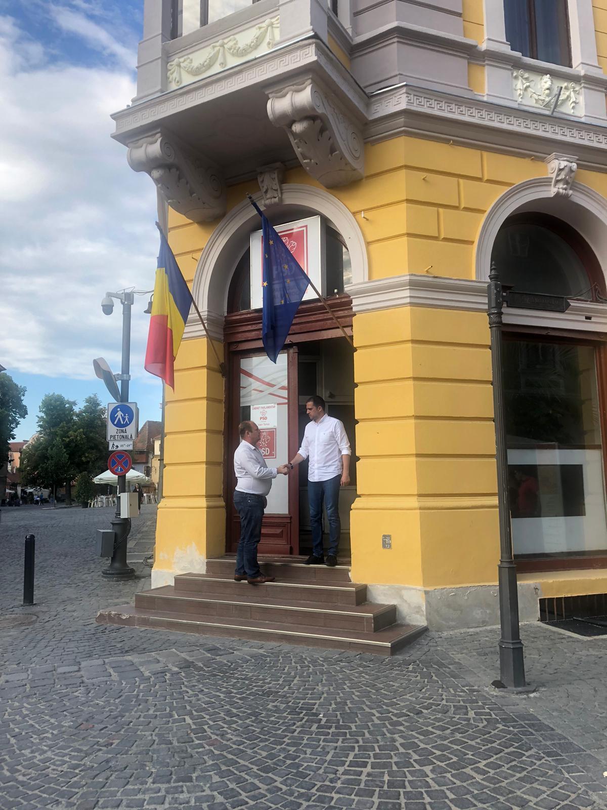 """ALDE Sibiu confirmă negocierile cu PSD. """"Avem un acord de principiu"""""""