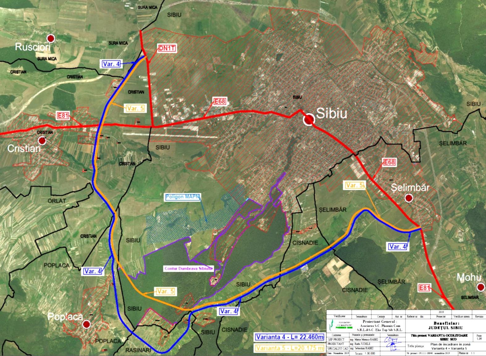 Ce proiecte majore de la București ar vrea să preia Consiliul Județean și Primăria Sibiu