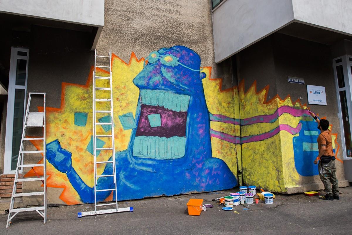 """Pentru """"stimularea exprimării artistice a tinerilor"""": în parcul Tineretului vor fi amplasate panouri de graffiti"""