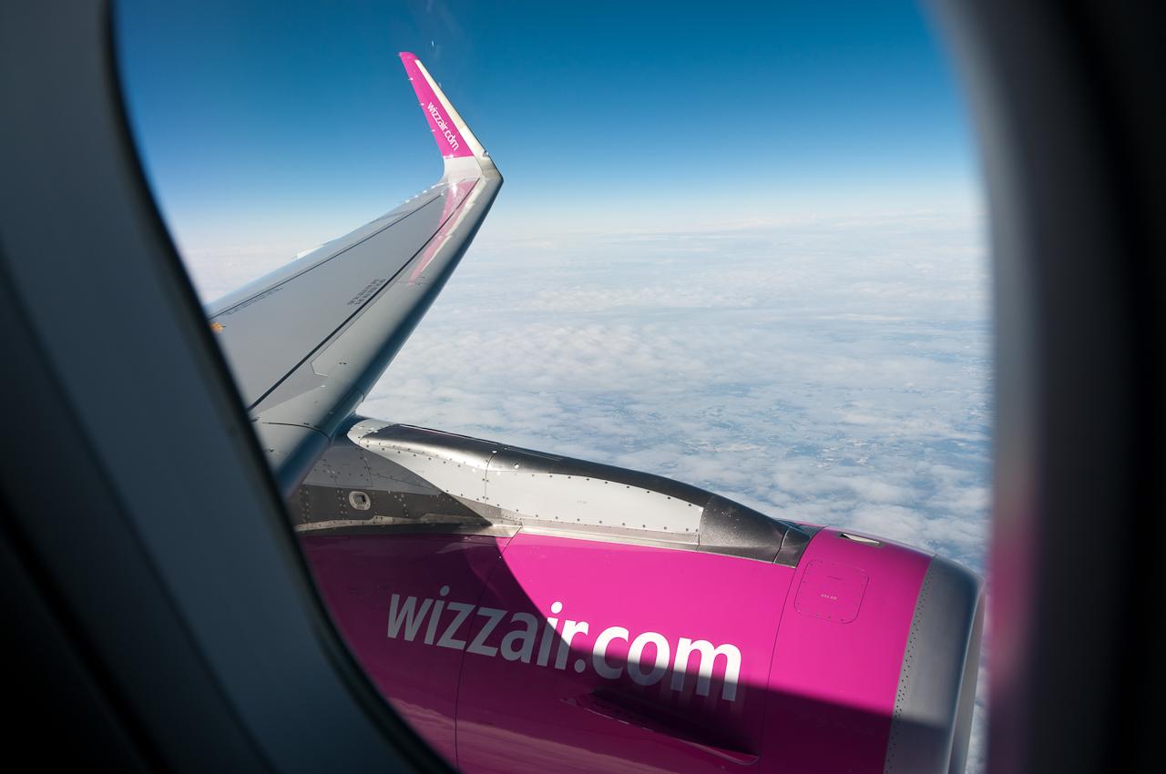 Wizz Air vinde astăzi bilete de la Sibiu la 9,99 euro