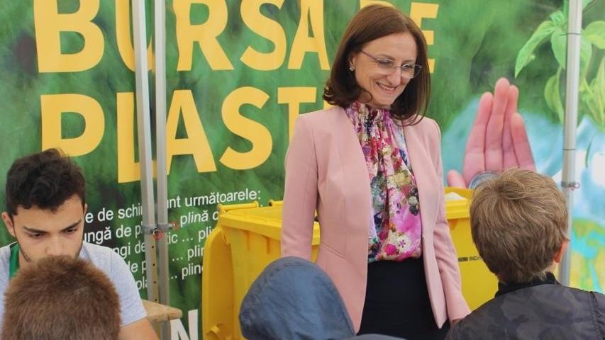 """Daniela Cîmpean, președinta Consiliului Județean Sibiu: """"Respectul pentru mediu nu este o lozincă, ci principiul acțiunilor noastre"""""""