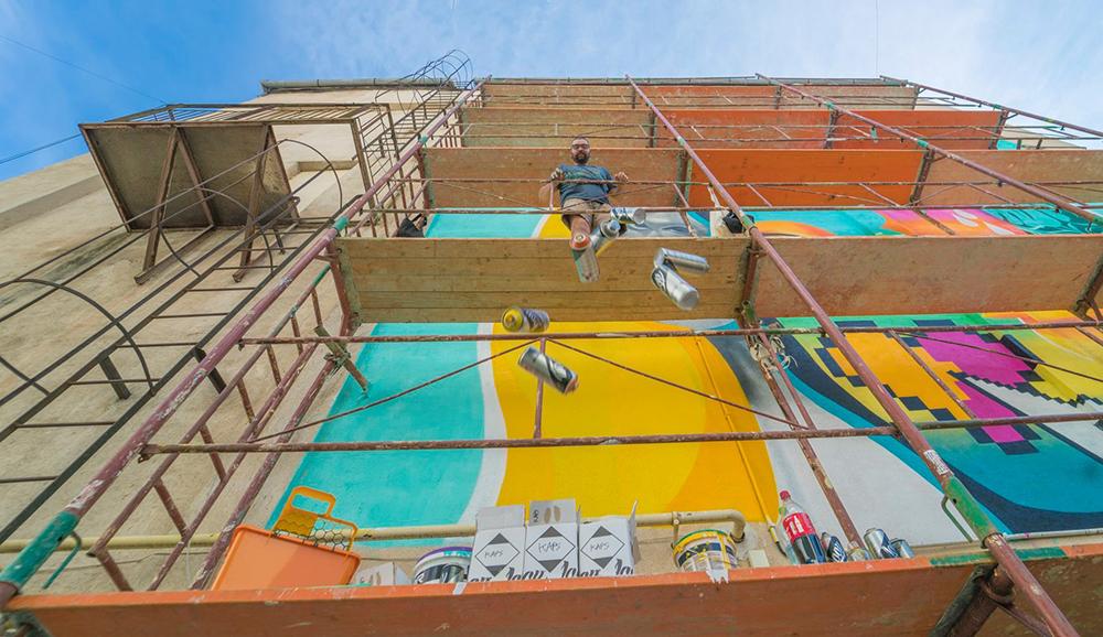 Locații pictate în premieră, la Festivalul de Artă Stradală: Ingineria și Baza Hipică sunt pe listă