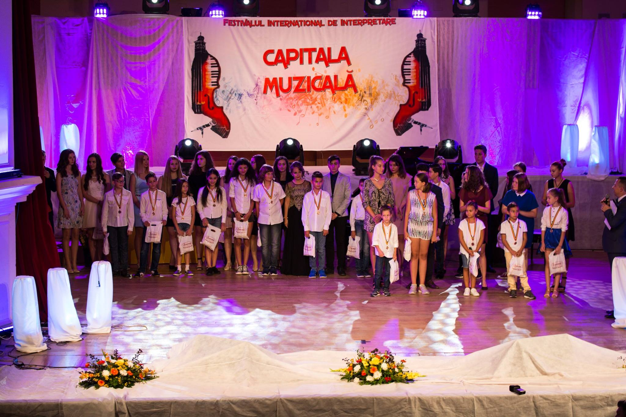 """Aproape 200 de participanți la cea de-a VIII-a ediție a Festivalului Internațional """"Capitala muzicală"""""""