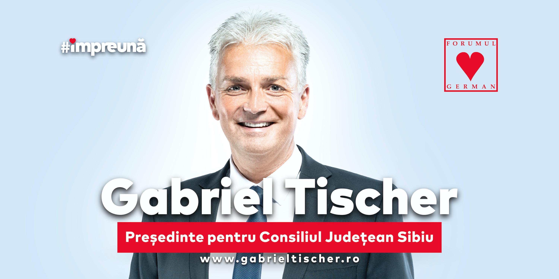 Gabriel Tischer-FDGR: Un altfel de președinte al Consiliului Județean Sibiu