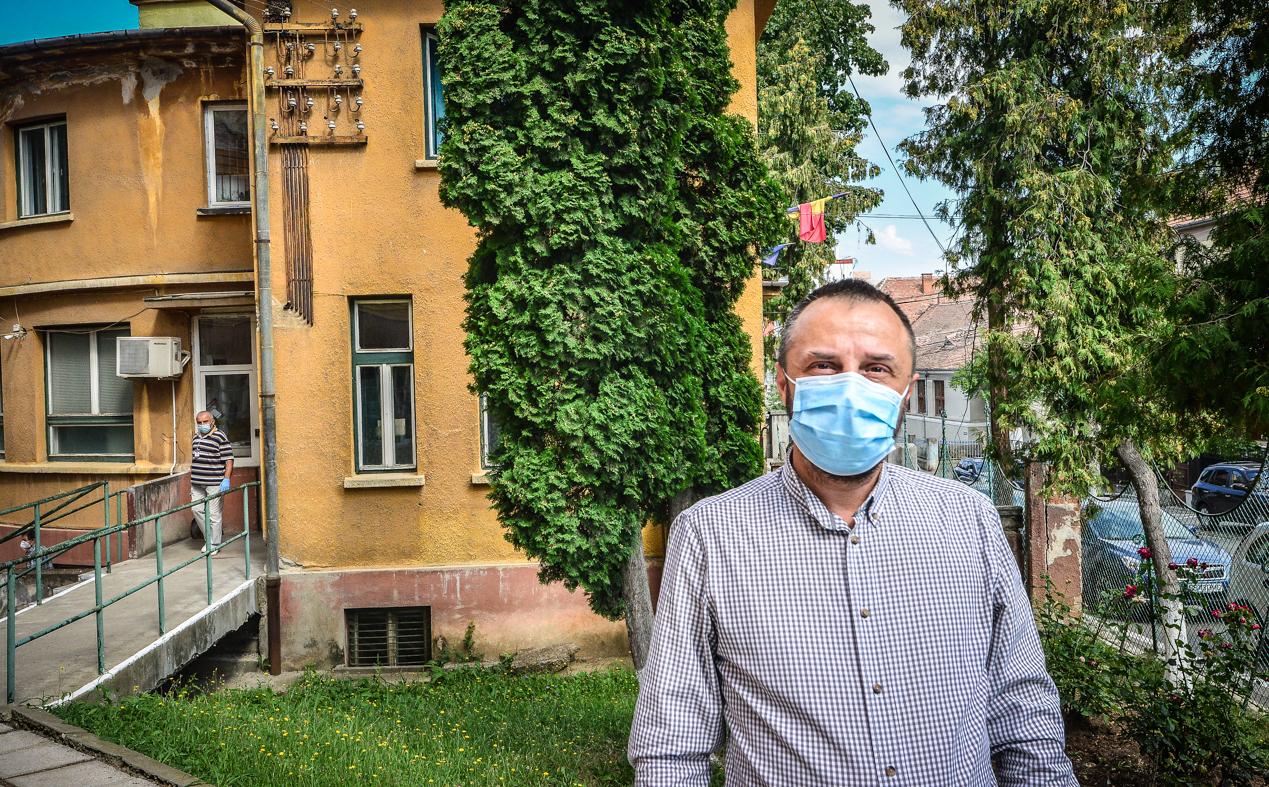 Horațiu Cojocaru, managerul Spitalului CF: În trei zile ne-am transformat din spital noncovid în spital COVID