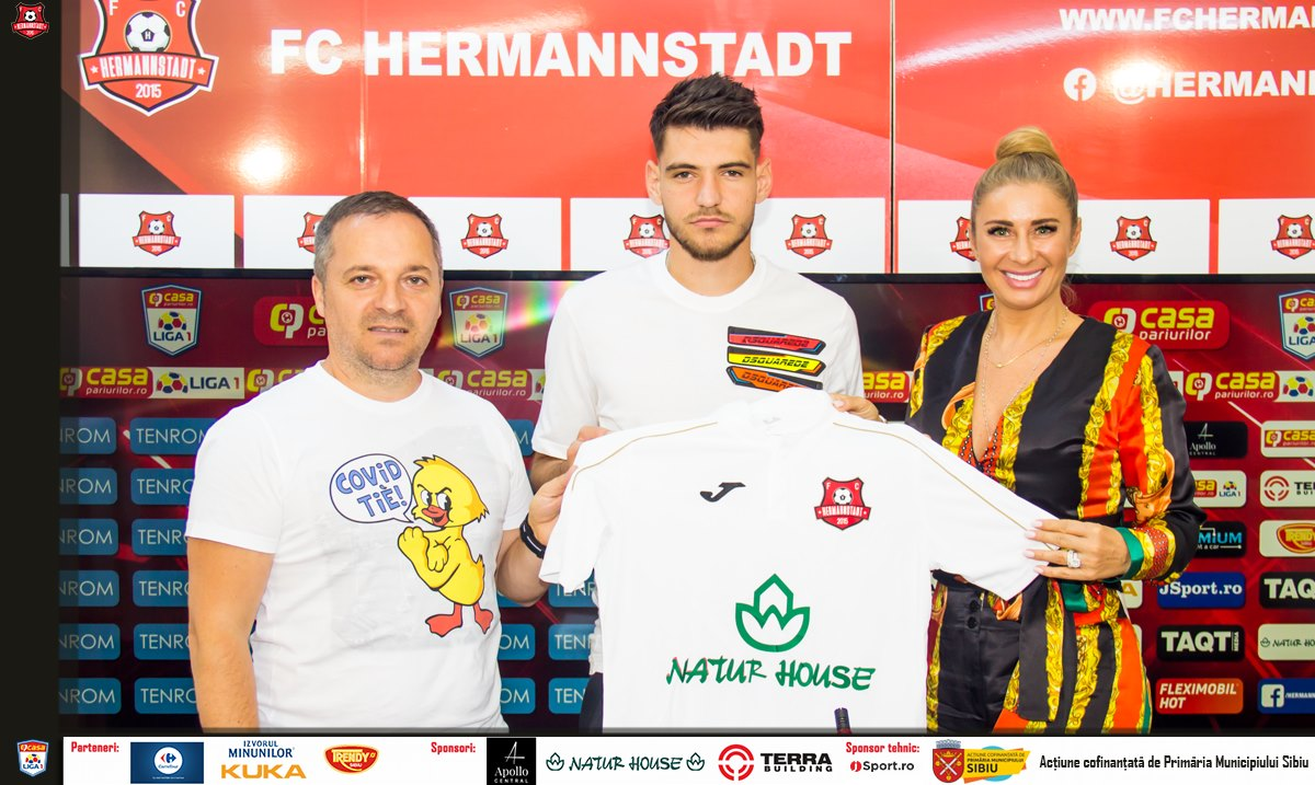 FC Hermannstadt are un nou jucător