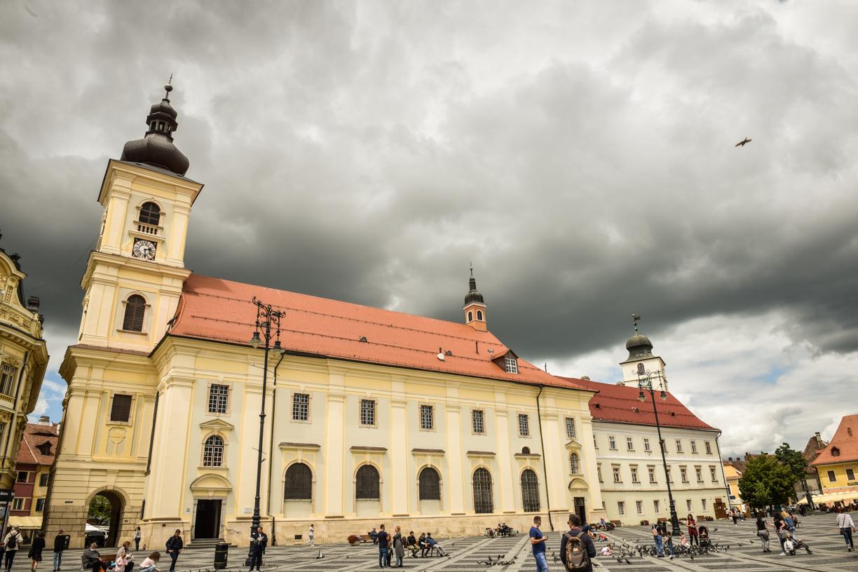 Cod portocaliu de precipitații abundente, în tot județul Sibiu