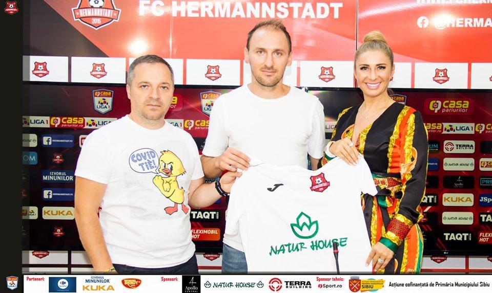 Un nou transfer la FC Hermannstadt - un fundaș de 33 de ani