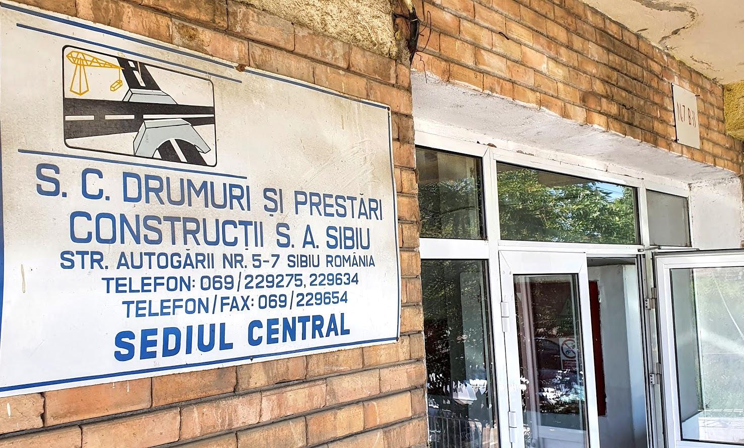 """Firma de construcții a orașului Sibiu își scoate și sediul la licitație. """"Cu cinci milioane de euro facem o firmă nouă"""""""