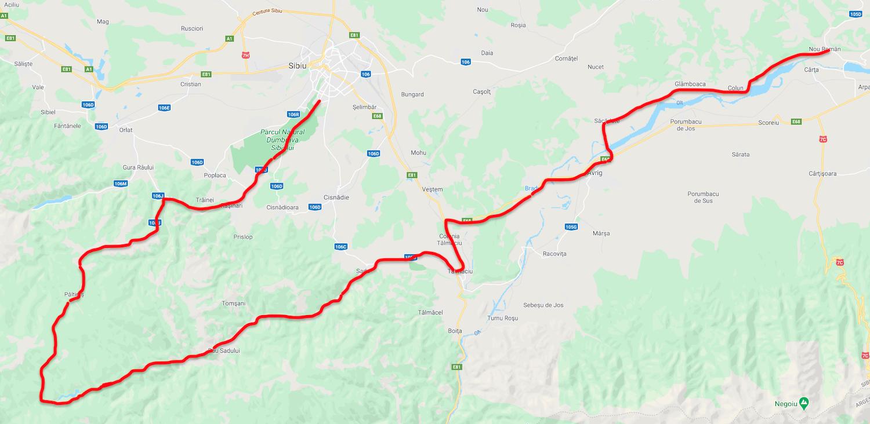 Proiect din fonduri europene: drum de 150 de km care să lege Sibiul de Mărginime și Țara Oltului
