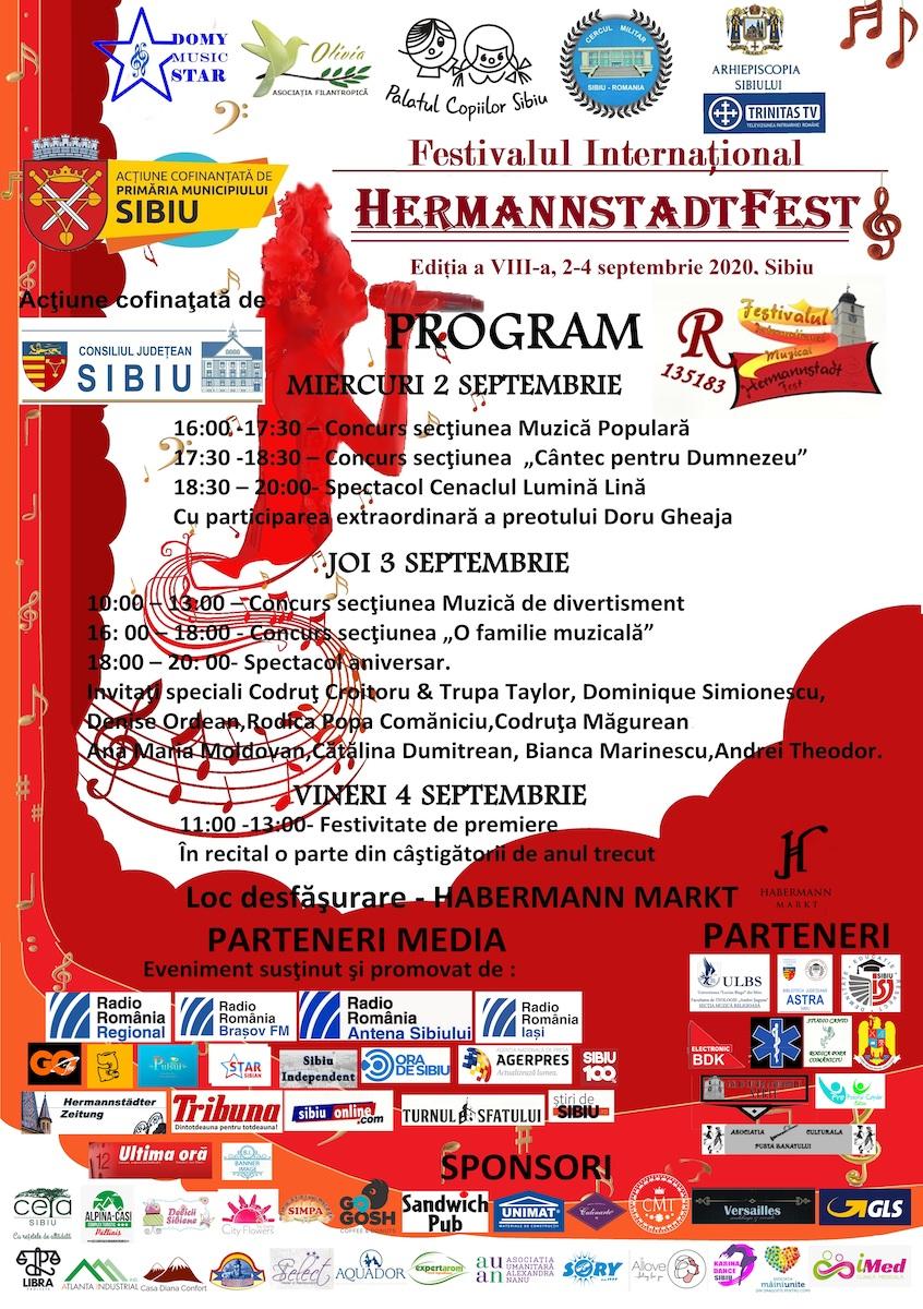"""Festivalul Internațional """"HERMANNSTADTFEST"""" aduce concertele în aer liber!"""