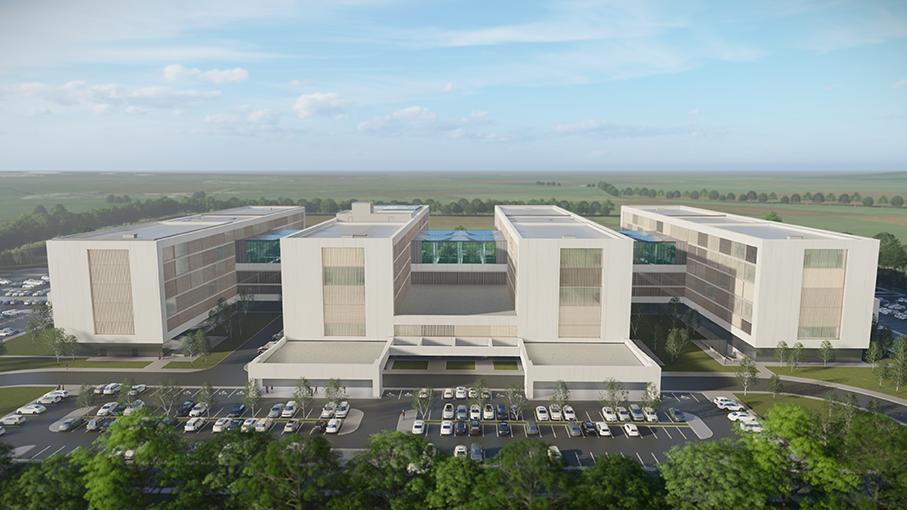 Lista secțiilor propuse a se muta în viitorul Spital Județean. Unul cu grădini interioare
