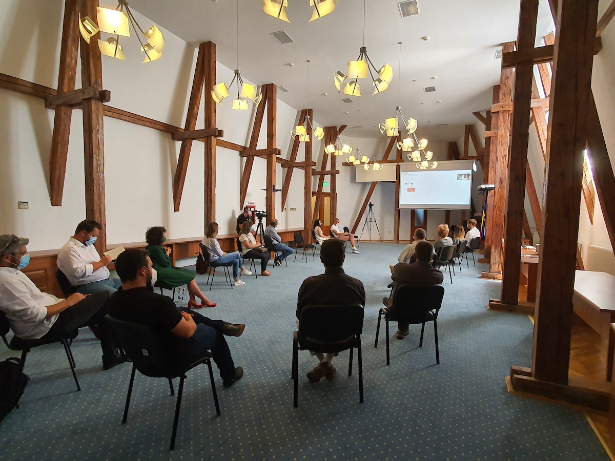 Prima întâlnire cu operatori culturali și turistici pentru Centrul de Conferințe și Spectacole