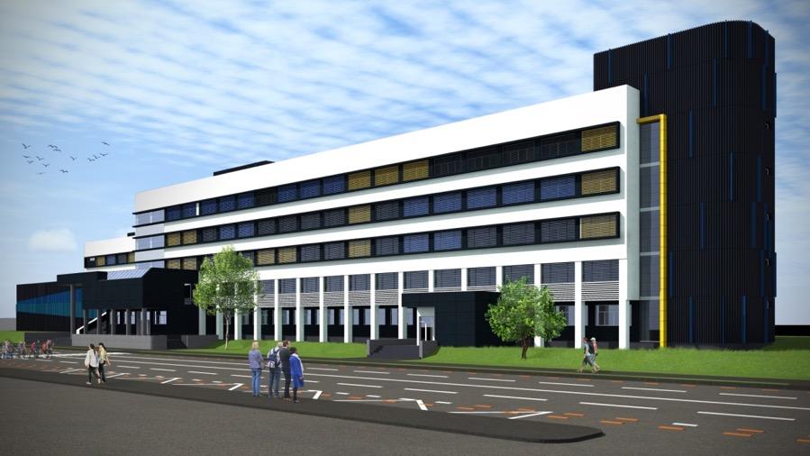 Schimbarea la față a Spitalului Județean. Contract de opt mil. de euro pentru reabilitarea a trei clădiri