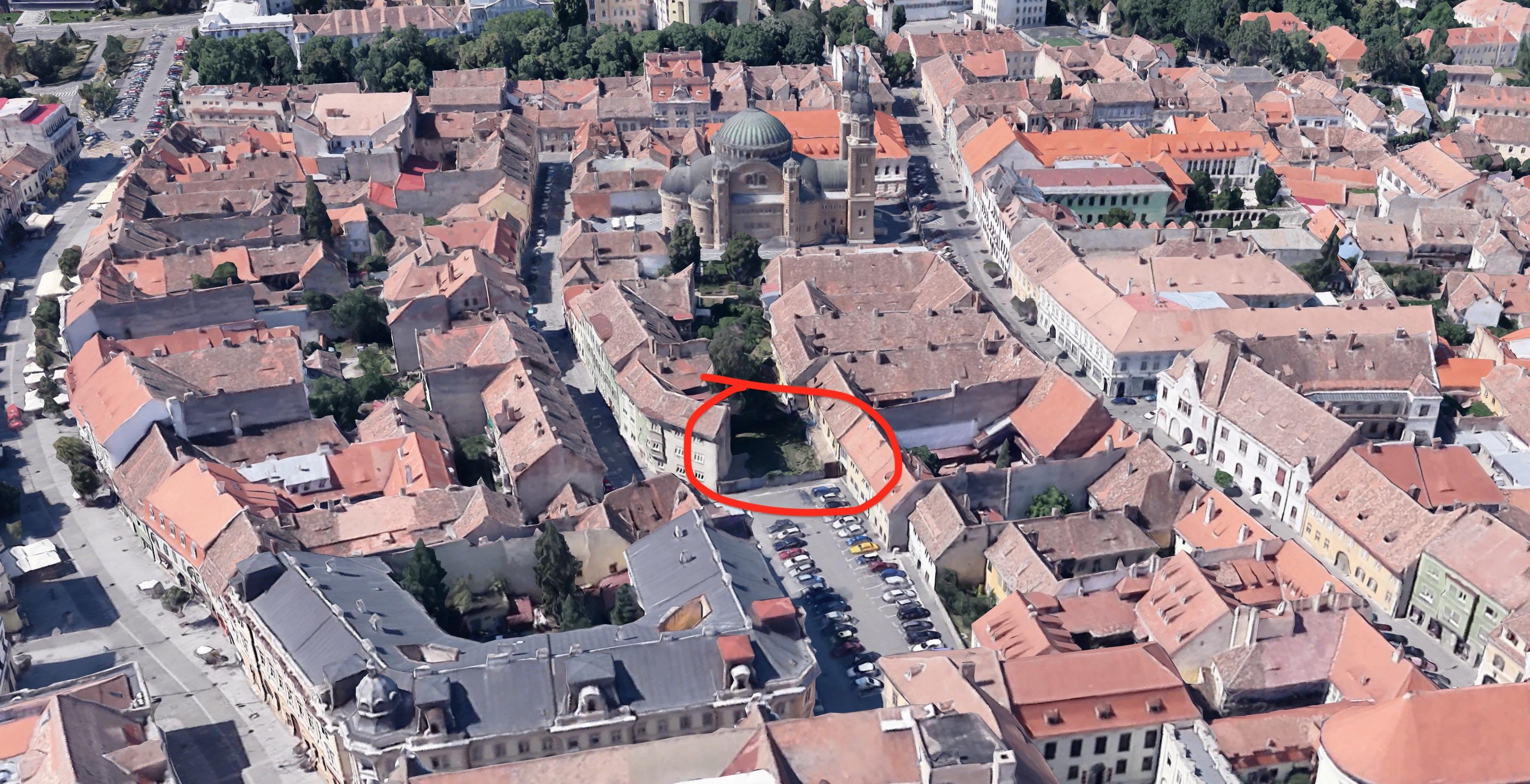 Se mai poate construi în centrul istoric? Proiect imobiliar pentru zona zero a Sibiului