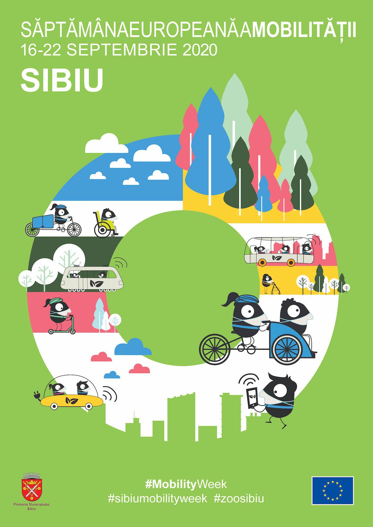 Programul complet pentru Săptămâna Europeană a Mobilității la Sibiu