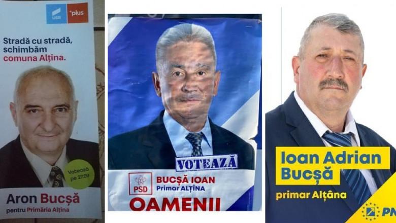 """Trei candidați la funcția de primar au același nume de familie. """"Strămoșii noștri au fost neamuri"""""""