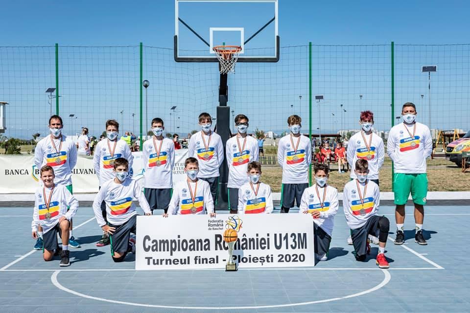 Cei mai buni sub 13 ani. Alpha Sport Team Sibiu, campioana României la baschet